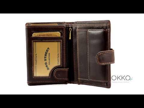 052dd40388e26 Skórzany portfel męski z zapinką WILD 5502 - jedyny oryginalny WILD