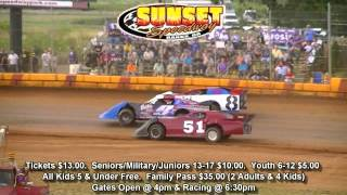 Sunset Speedway Promo for April 30