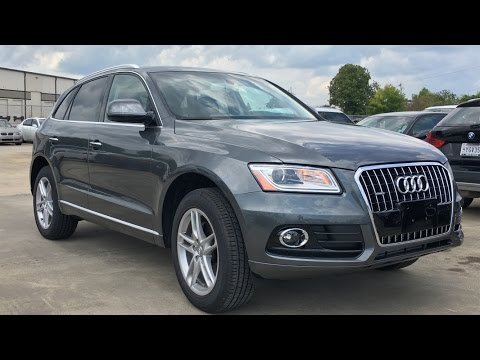 2017 Audi Q5 2.0T Full REVIEW, Start Up, Exhaust