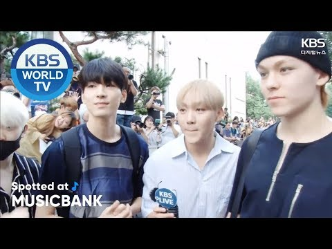 [Spotted at Music bank] 뮤직뱅크 출근길 - SEVENTEEN, GFRIEND, Apink, Triple H [2018.07.20]