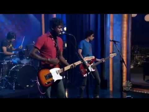 Bloc Party  Banquet  on Conan 2005