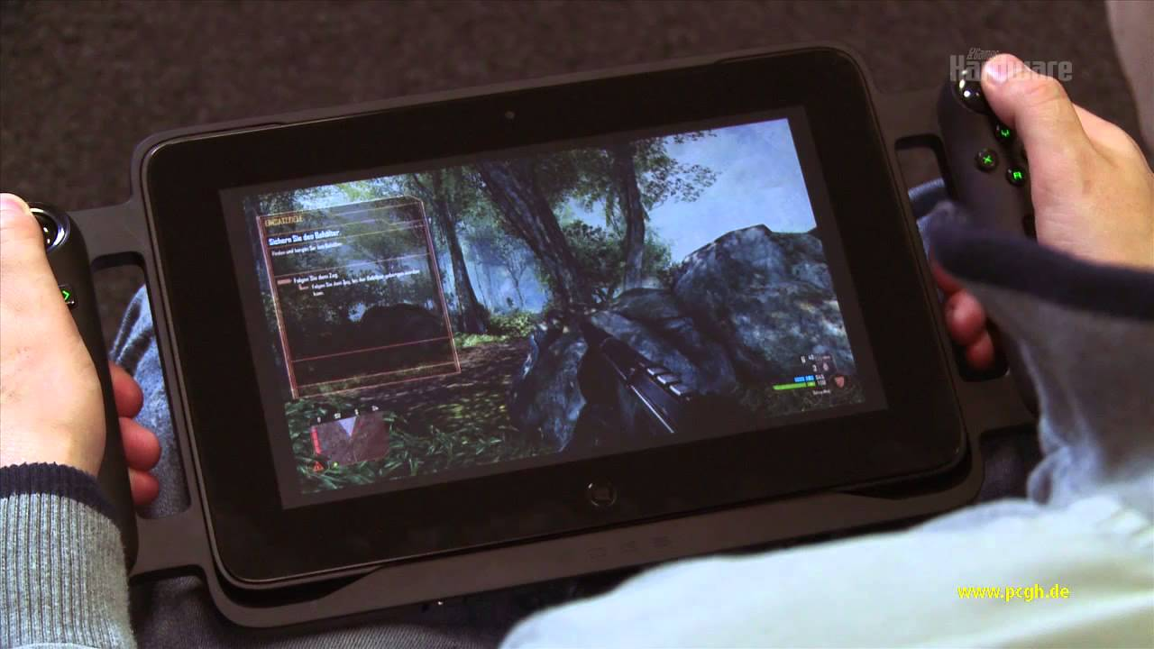 gaming tablet test