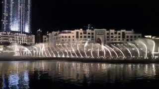 Dubai Fountain - Indian song