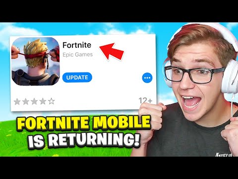 Fortnite Mobile is COMING BACK! (but there is a problem)