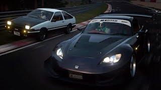 GT Sport 頭文字D AE86 VS S2000