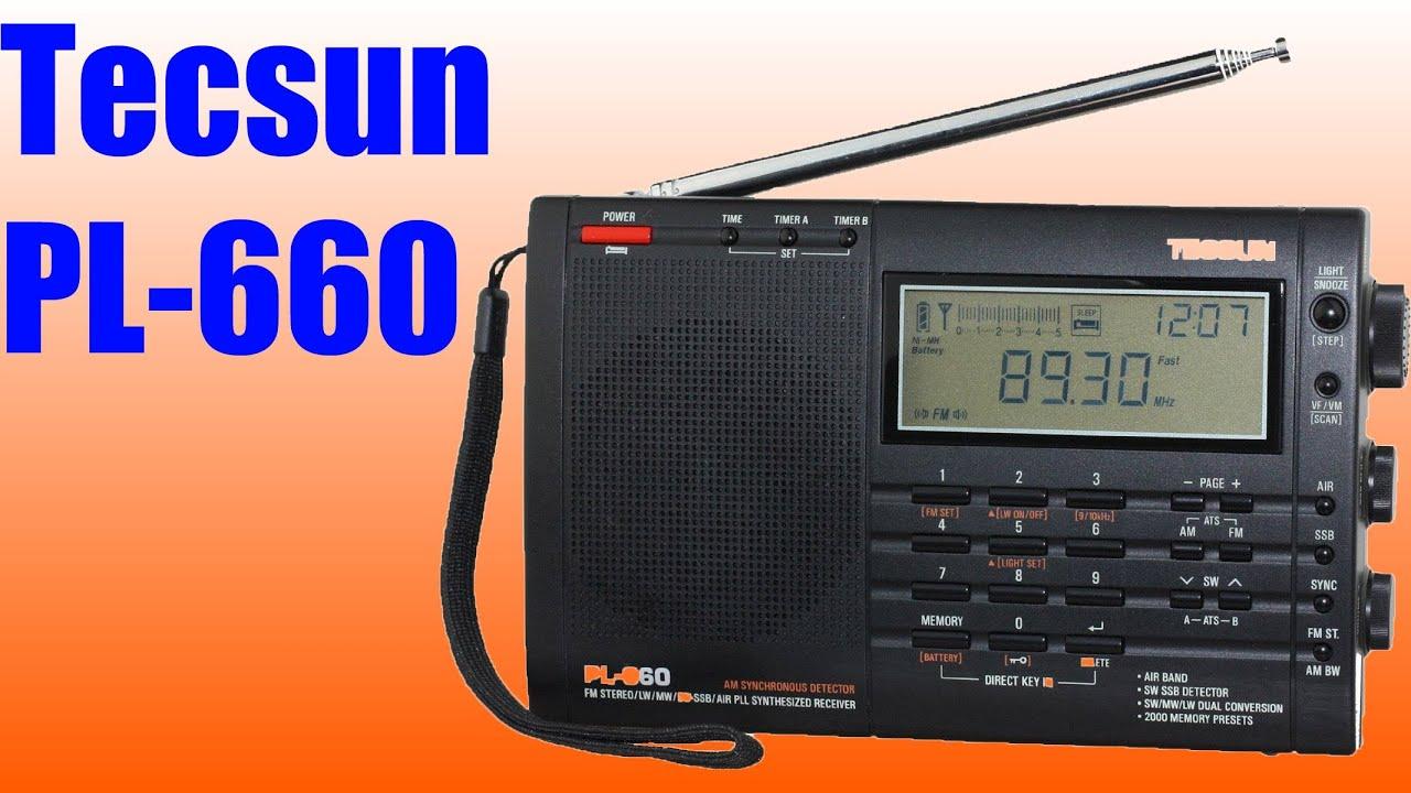 TECSUN R-909 Обзор радиоприемника - YouTube