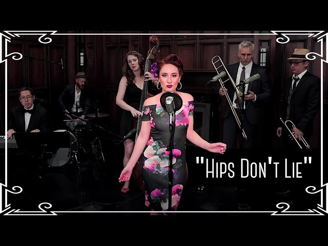 """""""Hips Don't Lie"""" (Shakira ft. Wyclef Jean) 1950s Latin Cover by Robyn Adele Anderson"""