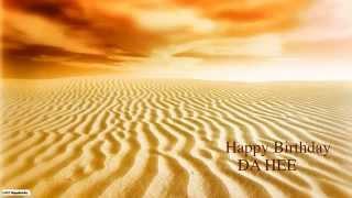 DaHee   Nature & Naturaleza - Happy Birthday
