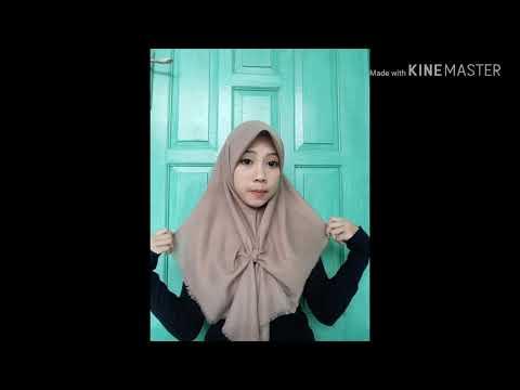 Tutorial Hijab Segiempat