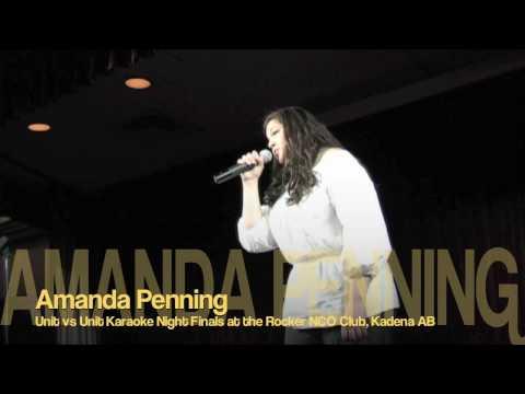 Karaoke Night Amanda Penning 2 - Rocker NCO Club - Kadena AB, Okinawa, Japan HD