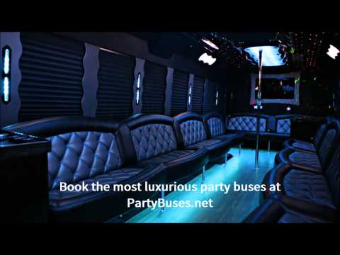 PartyBuses.net - Party bus, limo bus, charter bus, and coach bus rentals!
