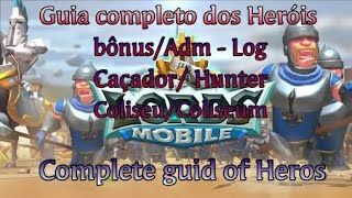 🎮 Lords Mobile: Guia completo de Heróis / Complet guid of heros