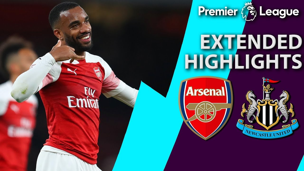 Arsenal v. Newcastle | PREMIER LEAGUE EXTENDED HIGHLIGHTS ...