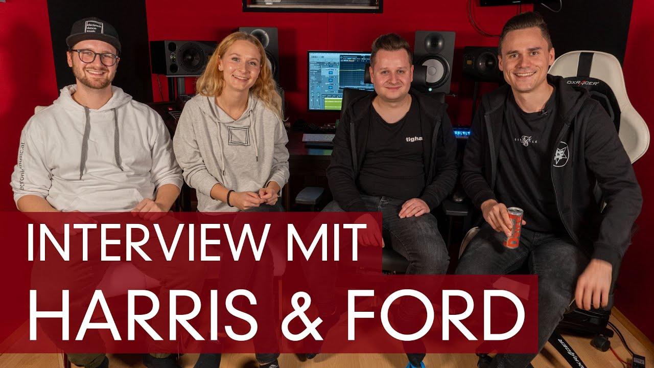 Interview mit Harris & Ford: Unser Besuch bei ihnen im Studio
