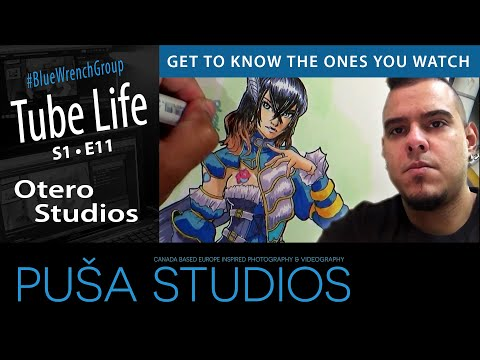 Puša Stream #019 The art Man himself Otero Studios