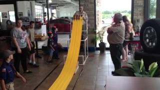 Bastrop Cub Scouts Troop Pine Wood Derby at Lost Pines Toyota