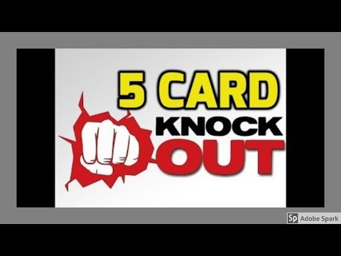 MAGIC TRICKS VIDEOS IN TAMIL #239 I 5 CARD KNOCKOUT @Magic Vijay