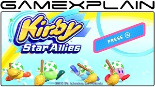 Kirby Star Allies - Multiplayer Game & Watch w/ SGB (Nintendo Switch)