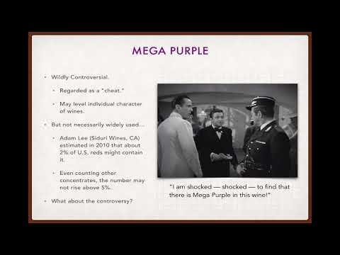 Winecast: Mega Purple