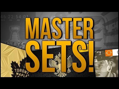 INSANE PULL!!! MASTER SET PACKS! x3 'NHL 17 Pack Opening'