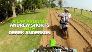 A lap at Andrew Short's house with Derek Anderson!