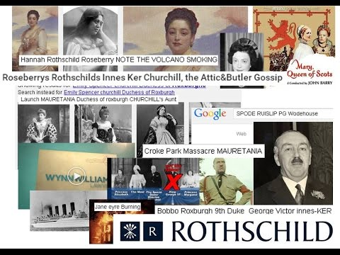Roseberrys Rothschilds Innes Ker Churchill, the Attic&Butler Gossip