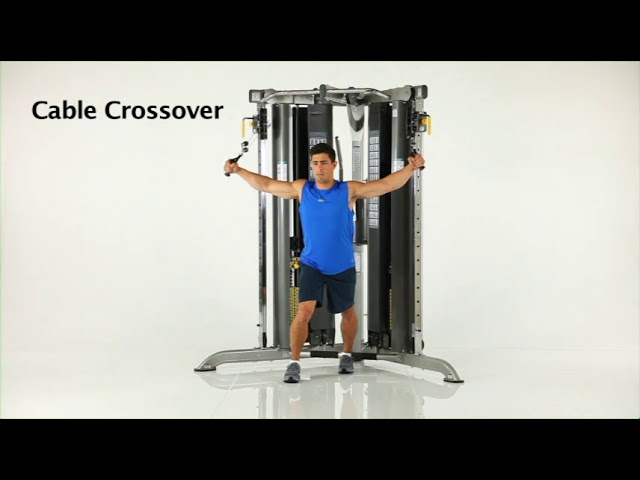 Chest Exercises | CXT-200 Functional Trainer | TuffStuff Fitness