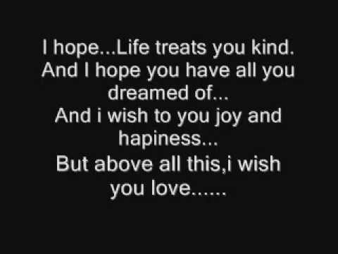 Witney Houston - I Will Always Love You. With Lyrics.