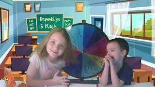 Spin The Wheel of Math and Reese's. Fun kids games