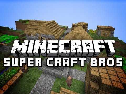 Minecraft: Super Craft Bros Brawl - PvP Mini-Game w/Jerome #2