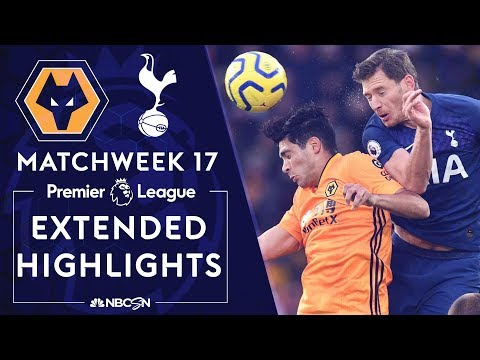 Wolves v. Tottenham  PREMIER LEAGUE HIGHLIGHTS  121519  NBC Sports