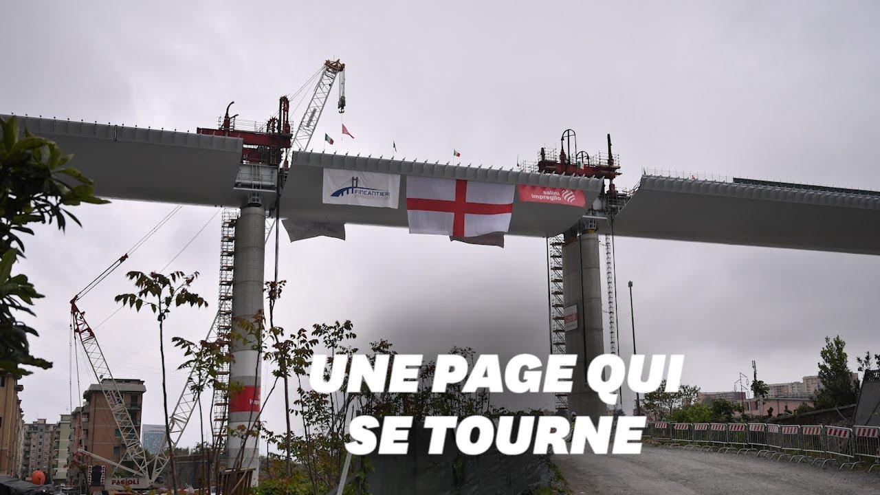 """Pont de Gênes : un """"modèle"""" de reconstruction érigé en """"symbole"""" italien . Maxresdefault"""