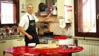 81  Bocconcini di pollo in agrodolce cucinati da Dario con il Coperchio Magico