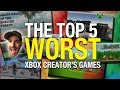 Top 5 WORST Xbox Creator's Games