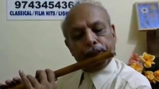 """Neene Rama Neene Shyama""""Mukunda Murari"""" song FLUTE by VISWANATH LS"""