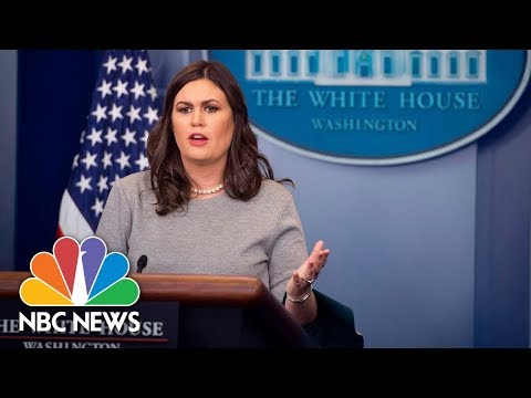 White House Press Briefing – April 4, 2018 | NBC News