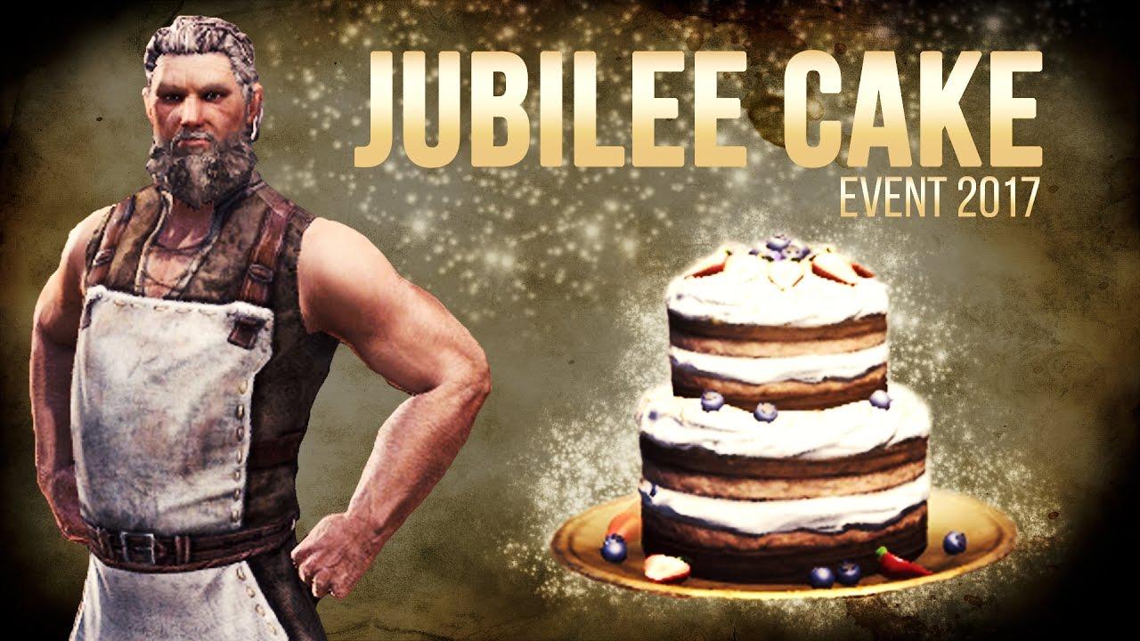 Eso Jubilee Cake