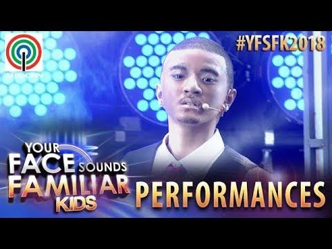 Your Face Sounds Familiar Kids 2018: Sheena Belarmino as Chris Brown   Yeah 3x