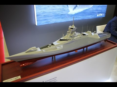 Turkish Naval Defense Technology at IDEF 2017