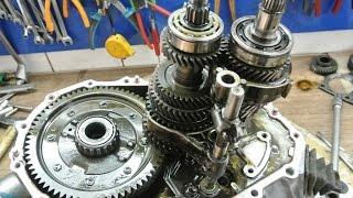 Як розібрати механічну коробку передач