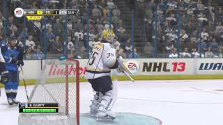 "NHL 13: Live Moments ep. 25 ""Elliott Blanks The Preds"""