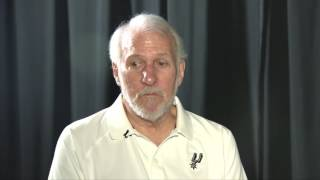 One on one with Gregg Popovich