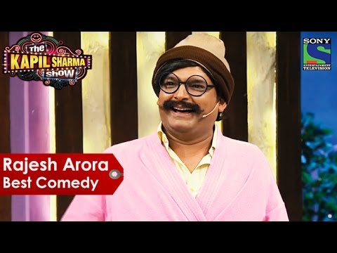 Thumbnail: Rajesh Arora Best Comedy | The Kapil Sharma Show | Indian Comedy