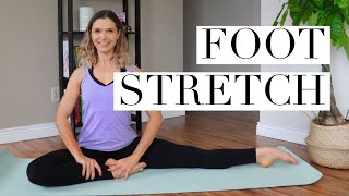 FOOT STRETCHING ROUTINE