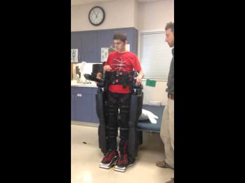 Paralyzed Person Walking!