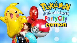 pokemon-party-city-balloon-shopping-2018-pikachu-pokeball-giant-balloons-hunt-gotta-catch-them-all