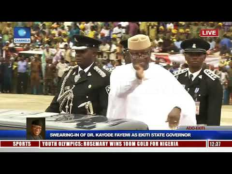Kayode Fayemi Sworn-In As Ekiti State Governor Pt.4 |Live Event|