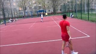 Данила Пыленок/Митя Баев/Саша Б. (Теннисный сезон 2017)