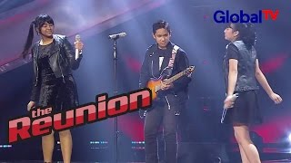 "Rafi, Fahira, Angel ""Sweet Child O Mine"" I The Reunion GlobalTV 2016"