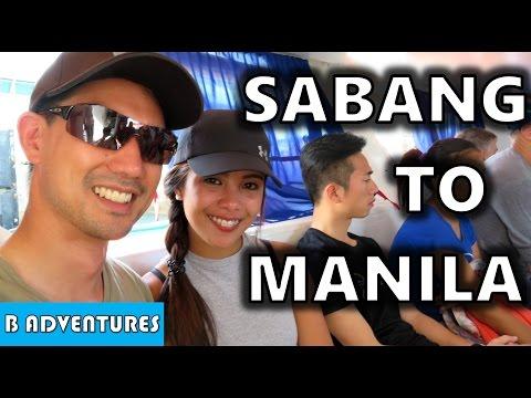 Sabang Beach to Metro Manila Philippines S4, Vlog 34